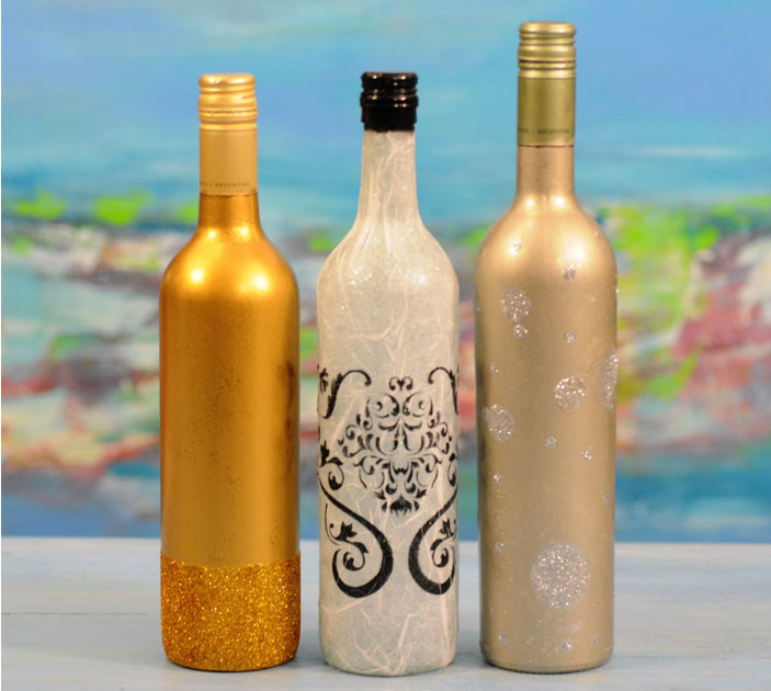 Botellas recicladas